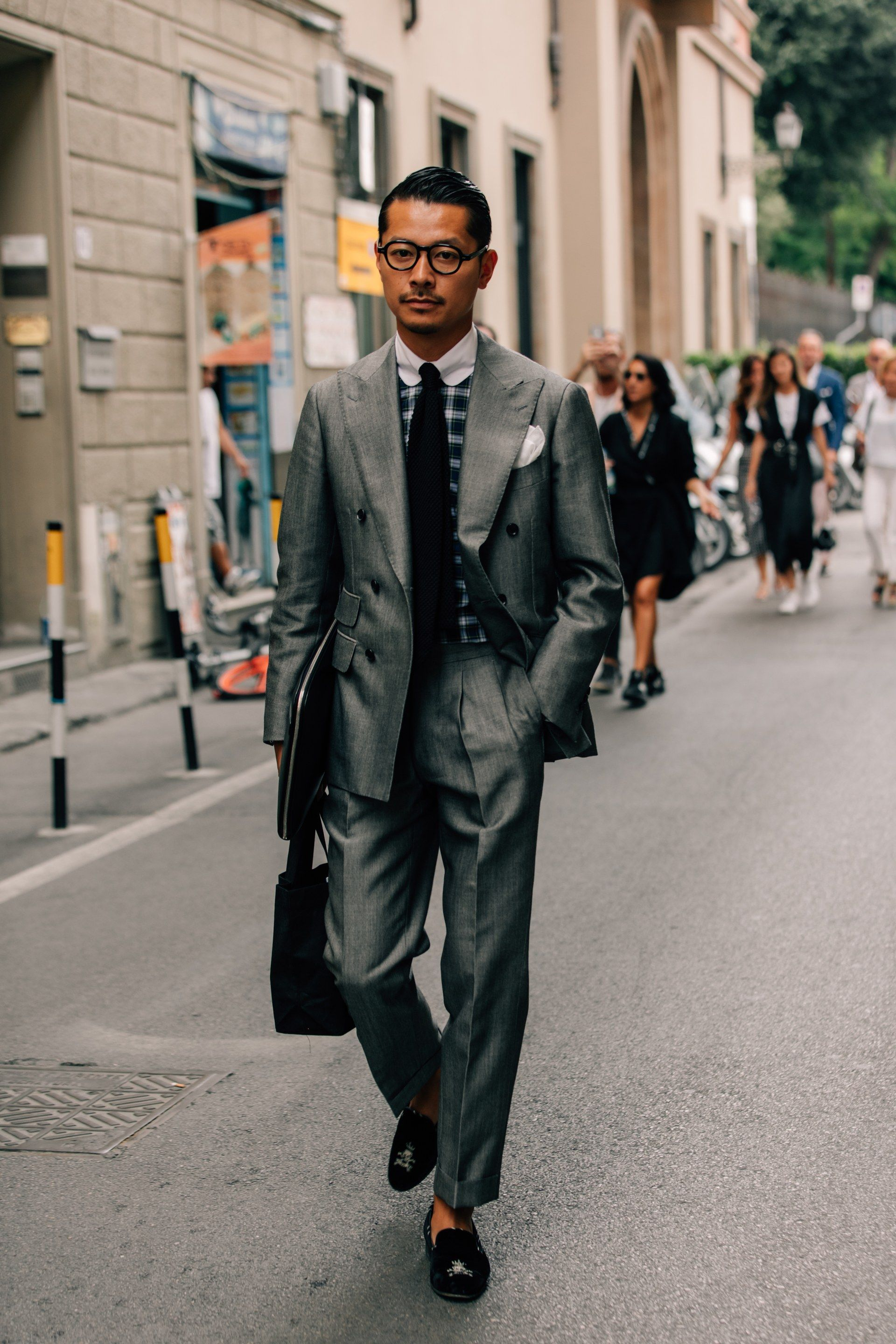The Best Street Style From Pitti Uomo Fast Forward Mens Mens