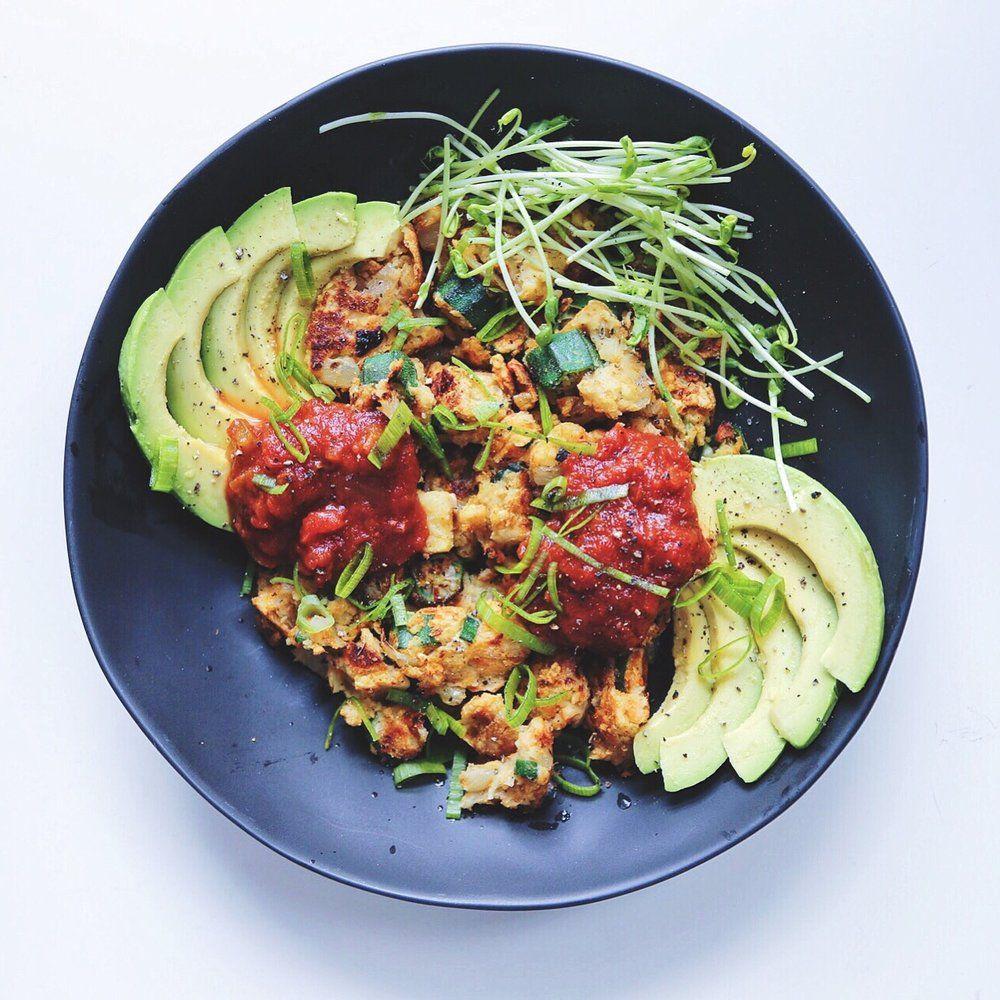 savoury energizing plant-based breakfast, need I say more?...