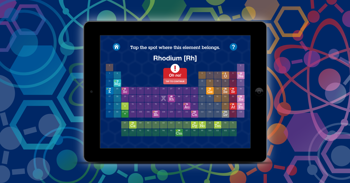 Superflash elements app for ipad features a periodic table study superflash elements app for ipad features a periodic table study table with 118 elements hydrogen urtaz Gallery