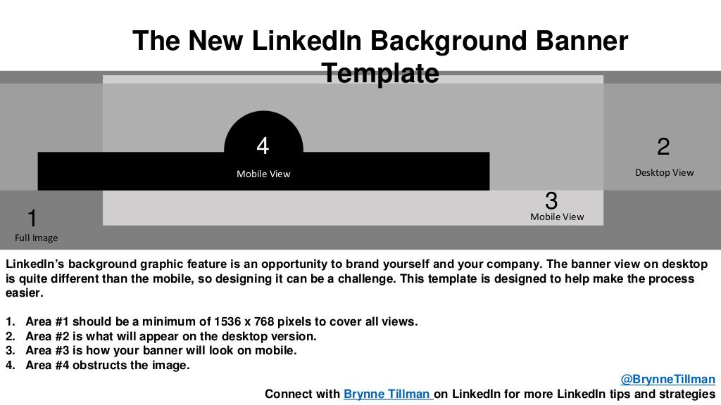 4 Linkedin Banner Image Sizes Guide For 2018