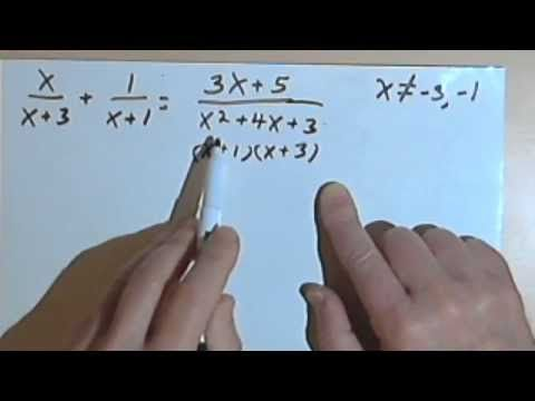 Solving Rational Equations | math | Pinterest | Equation, Math and ...