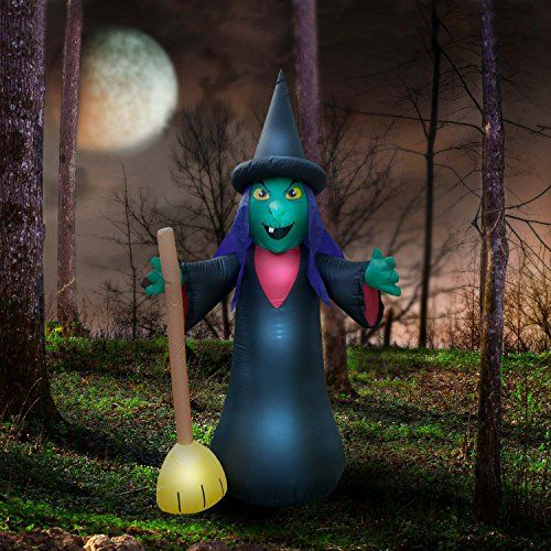 6 Foot Tall Halloween Witch Inflatable Halloween Halloween - inflatable halloween decoration