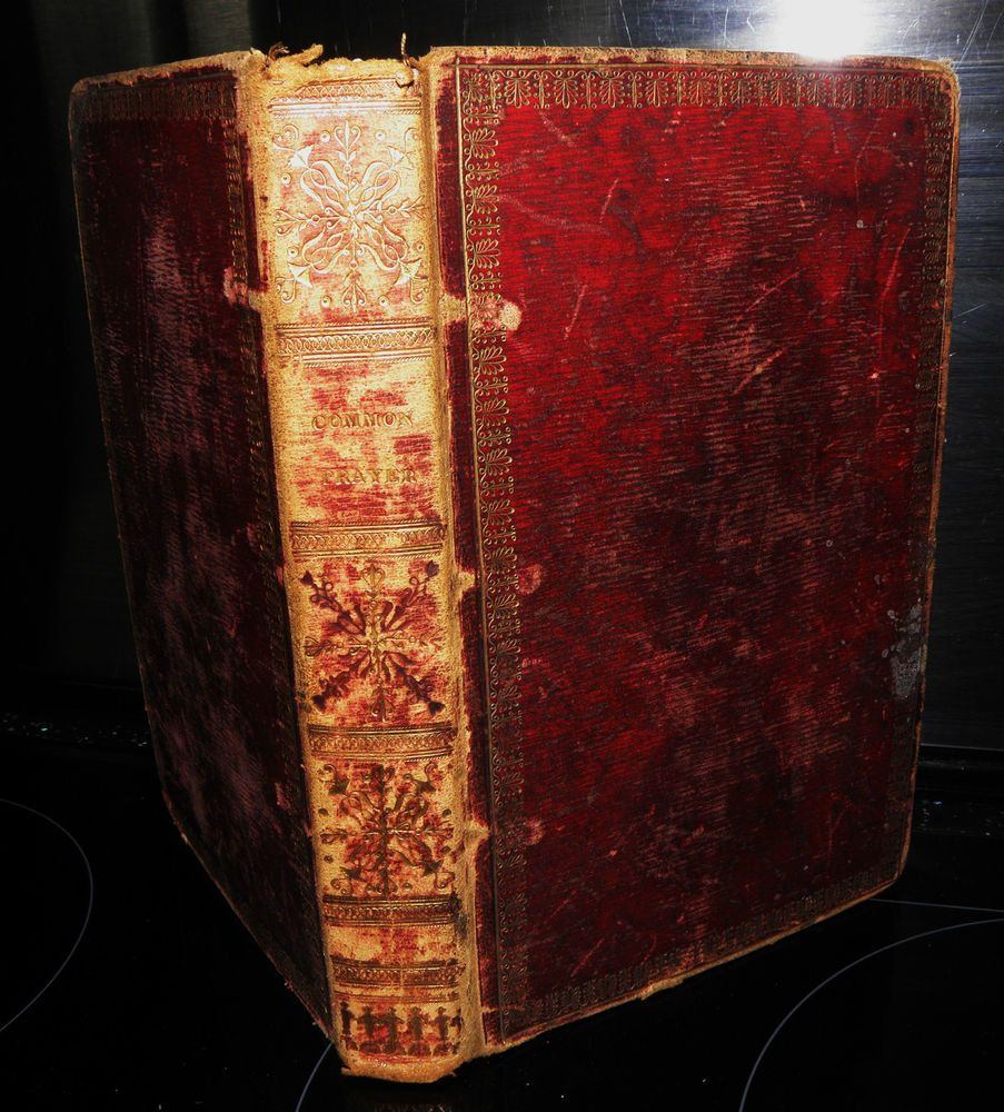 Details about the book of common prayer 1818 vintage