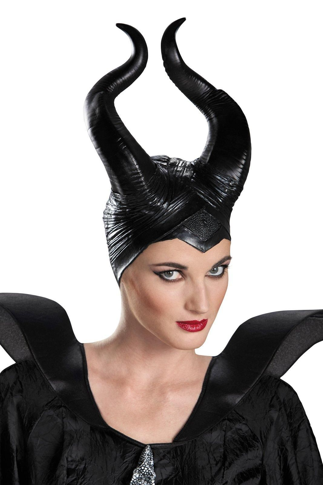 Disney maleficent vinyl horns deluxe headpiece disney maleficent disney maleficent vinyl horns deluxe headpiece from buycostumes baditri Gallery