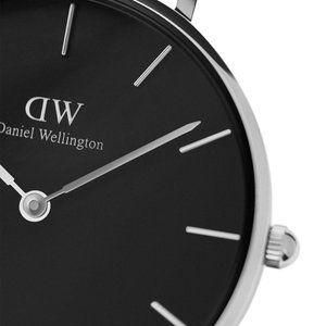 ダニエル ウェリントン DANIEL WELLINGTON 腕時計 クラシックペティート スターリング 32mm DW00100162 レディース ブラック