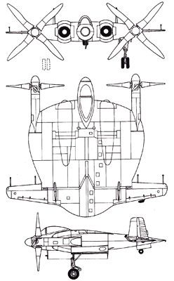 3 View Of The Vought Xf5u 1 Fighter Aircraft Design Aircraft Us Navy Aircraft