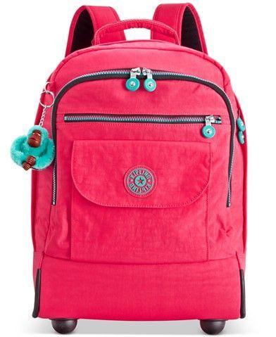Kipling Sanaa Wheeled Backpack | escola | Pinterest