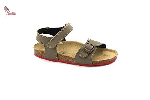 Grunland Deha filles, cuir lisse, sandales, 33 EU
