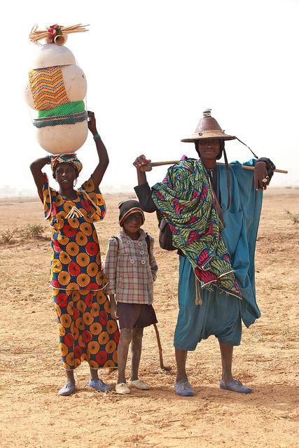 Fulani family by Ferdinand Reus, via Flickr. Mali