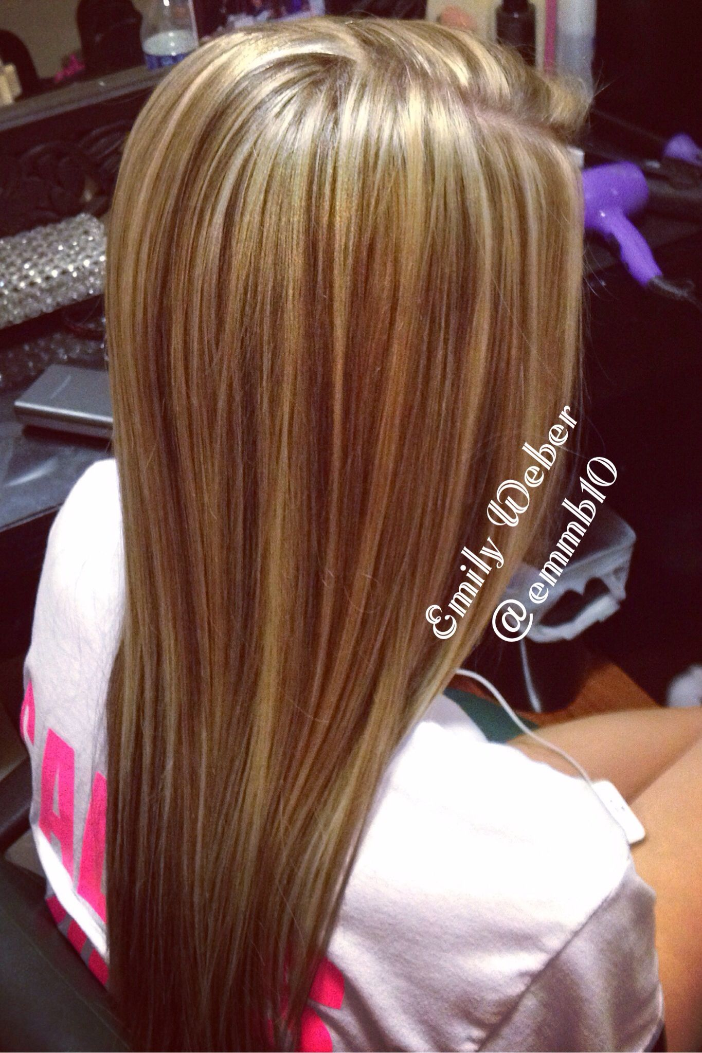Highlight Lowlight Hair Blonde Brown Redken Layers Beauty