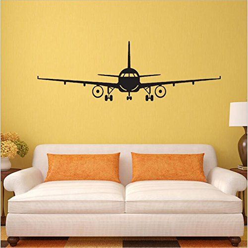 $13.98 - Fashion Airplane Aircraft Wall Stickers Decals Home Kids ...