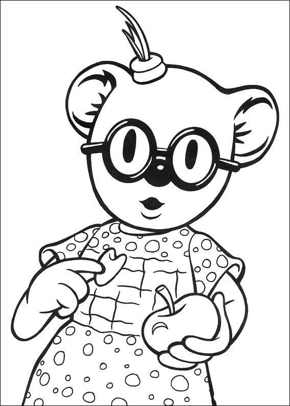 Koala Brødrene Fargelegging for barn. Tegninger for utskrift og fargelegging nº 38
