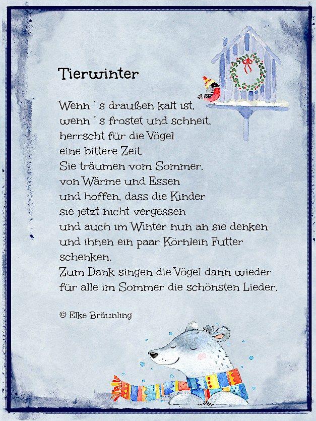Photo of Animal winter. winter poem