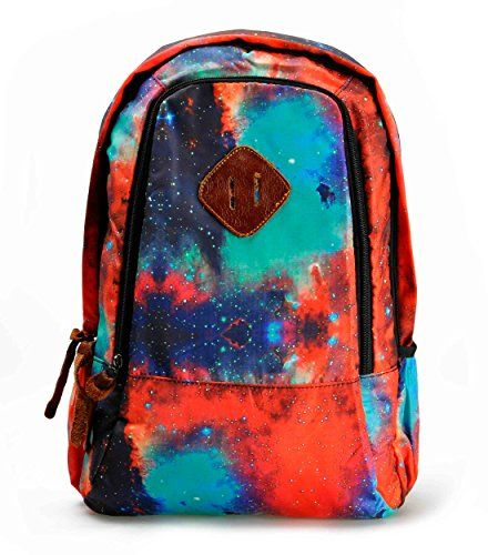 "ZLYC Fashion Unisex Universe Neon Galaxy Pattern Print Casual School Travel 13"" Laptop Backpack Daypack Tablet Bags Student Schoolbag Orange ZLYC http://www.amazon.com/dp/B00ME4EUSI/ref=cm_sw_r_pi_dp_hCz.tb1DPG13D #women #girl #backpack #schoolbag #ZLYC #Hallomall #plante #fashion"