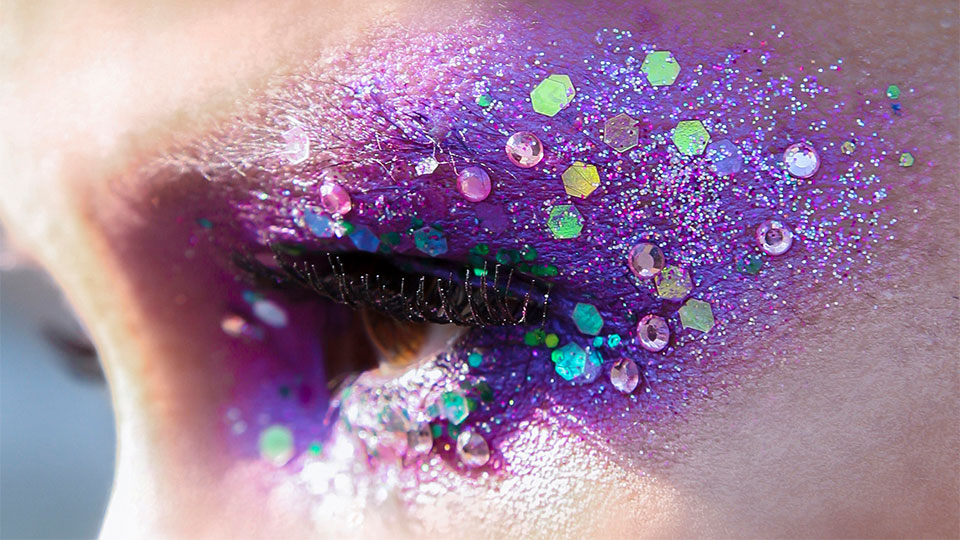 green witches face makeup Google Search Glitter face