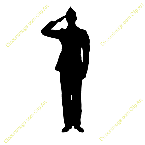 military silhouettes free graphics clipart 12368 soldier salute rh pinterest com army clip art pictures army clipart free