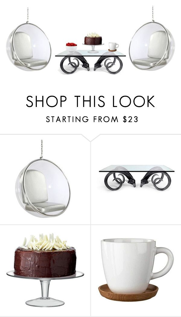 """H."" by hchocolati ❤ liked on Polyvore featuring interior, interiors, interior design, home, home decor, interior decorating, Dot & Bo, Jonathan Adler, LSA International and Höganäs Ceramic"