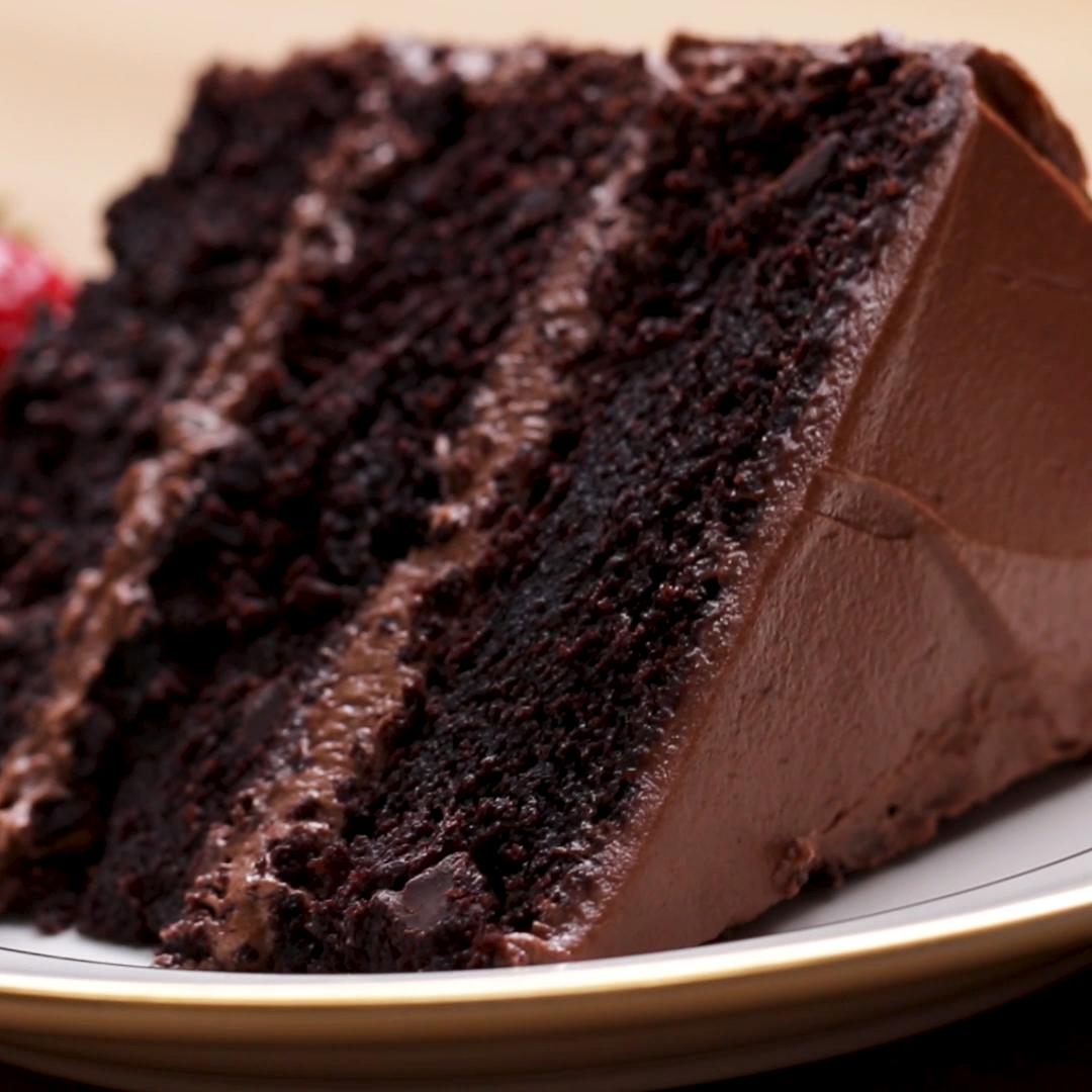 Der ultimative Schokokuchen #amazingcakes