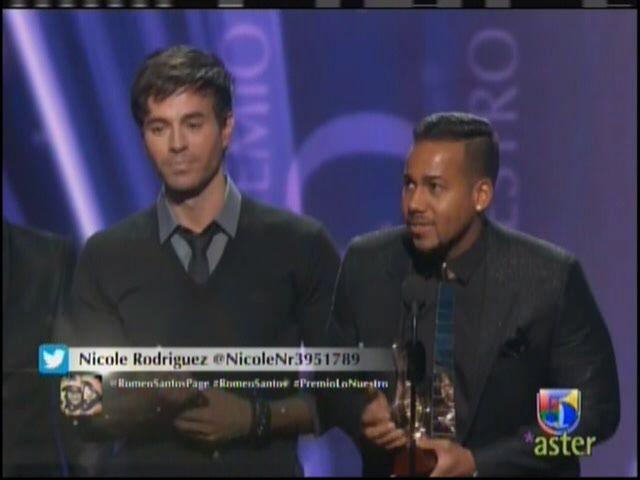 Romeo Santo Gana En Premio Lo Nuestro Como Tropical Colaboracion Del Año #Video
