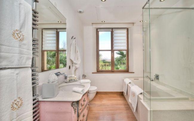 luxus bad barock rosa waschunterschrank handtuchhalter heizkörper - heizkörper badezimmer handtuchhalter