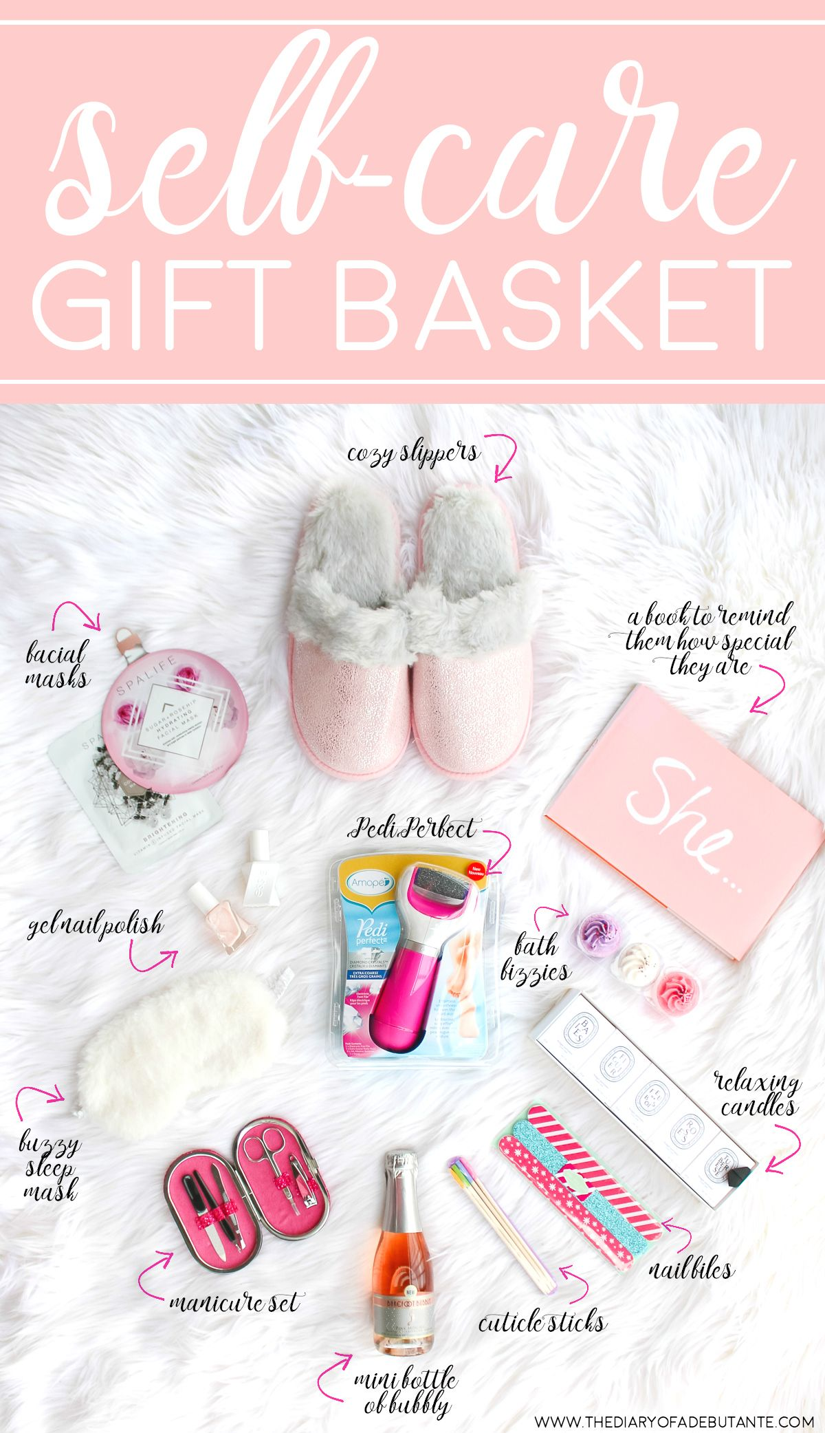 811afac99a67 Cute and thoughtful gift basket idea for anyone who needs more