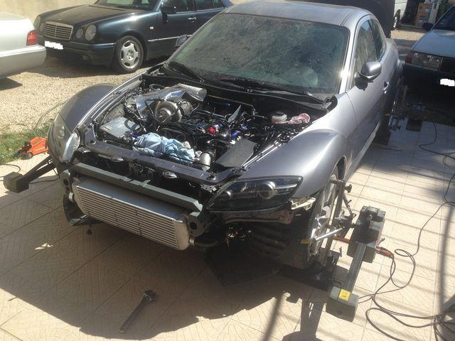 RX8 swap 2JZ NA-T 61mm 500WHP | 2JZ Swaps | Mazda, Rx7, Cars