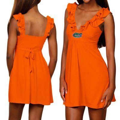 Florida Gators Ladies Orange Sorority Girl Sundress | Lady ...