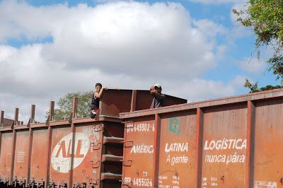 Circulando por Curitiba: Linha férrea de Curitiba