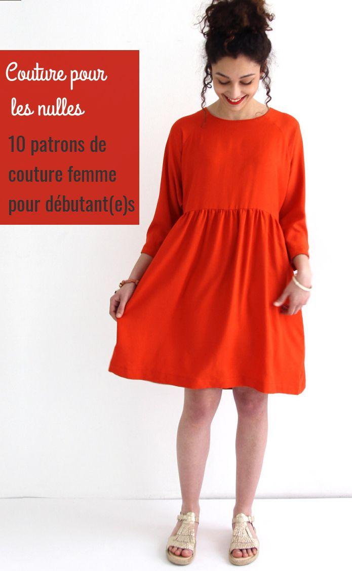 Coudre votre premier vêtement : 10 patrons pour les débutant(e)s