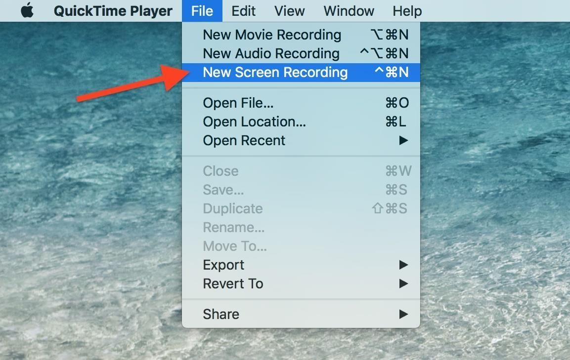 How to record your macs screen for free using quicktime