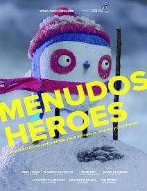 Menudos héroes es una selección de cortometrajes para niños a partir de 4 años…