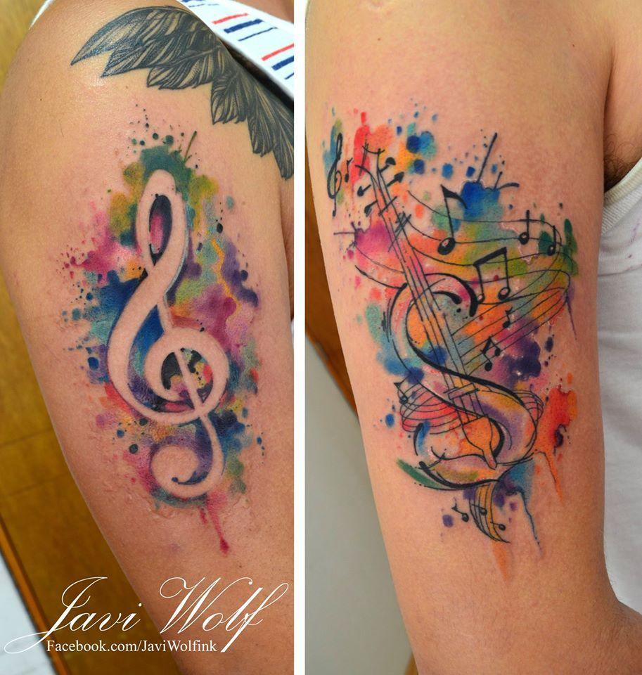 Amigos Abri Agenda Otra Vez Solo Para Llenar El Mes De Junio 2016 Quedan Poquitas Fechas Asi Que Apro Tattoo Notenschlussel Wasserfarben Tattoo Tattoos Musik