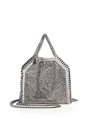 b7ec2d9c08c1 Stella McCartney Falabella Tiny Baby Bella Embellished Faux Leather Tote