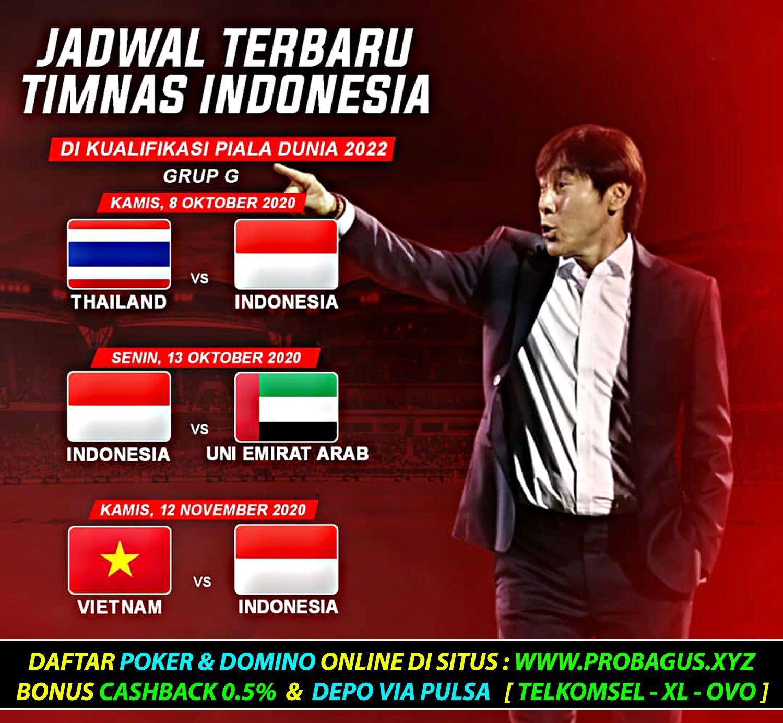 Jadwal Terbaru Timnas Indonesia Di Kualifikasi Piala Dunia 2022 Liga1 Liga12020 Shopeeliga1 Ligaindonesia Persib Persija Perseb The Unit Indonesia Bali