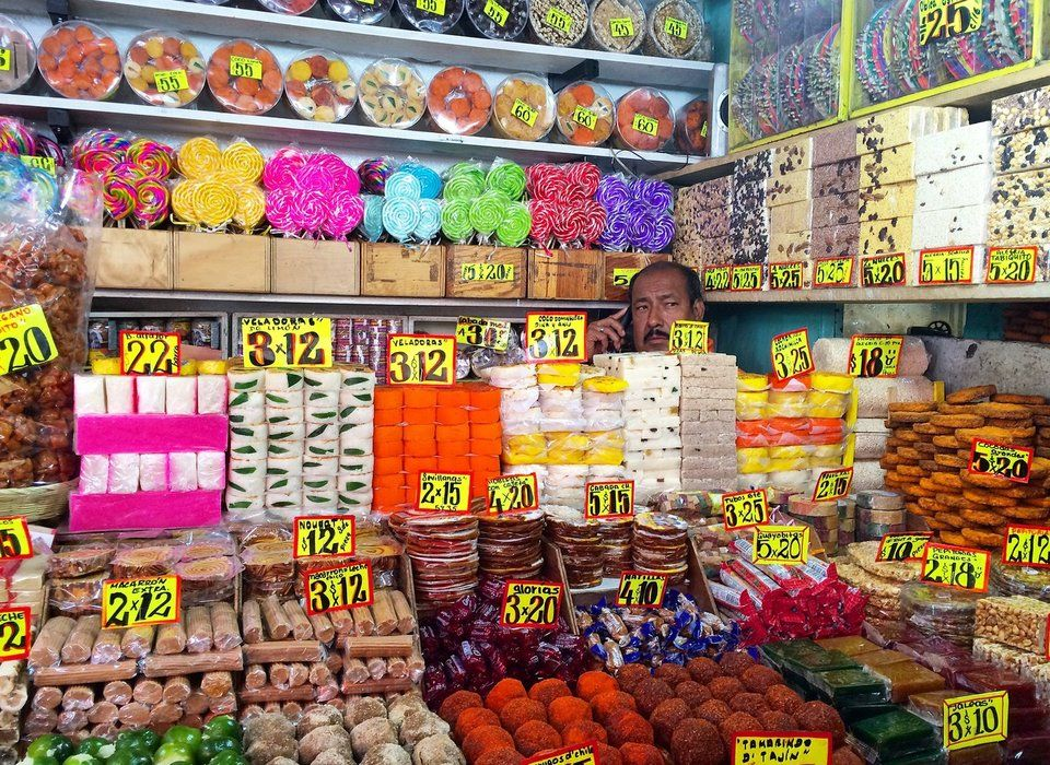 Grocery shopping in mexico city