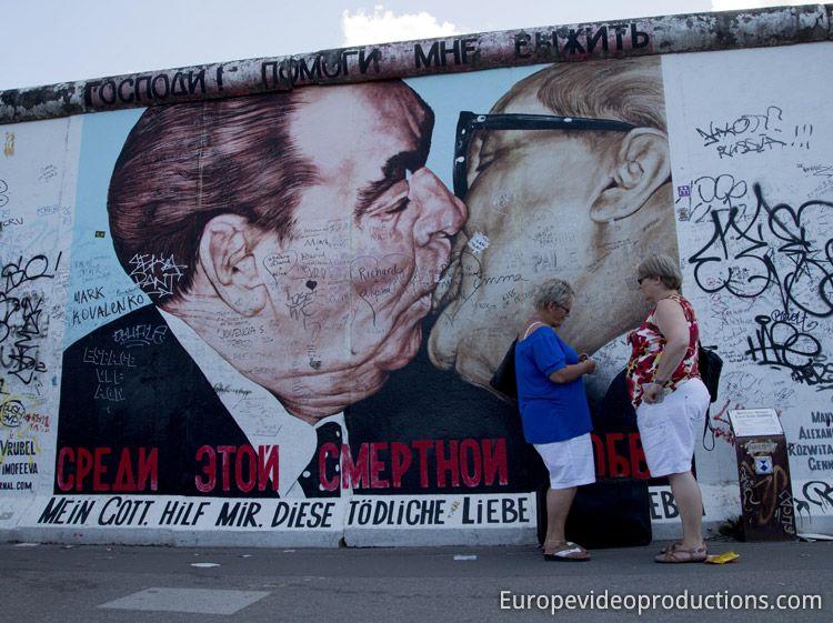 East Side Gallery In Berlin In Germany Berlin Wall Berlin East Side Gallery