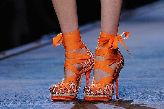 Maravillosos zapatos de tacón para fiesta