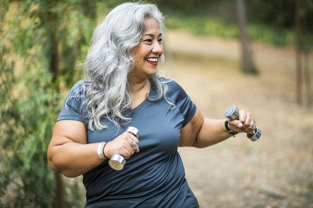 The Only 5 Dumbbell Exercises Older Adults Need for Total-Body Strength | Livestrong.com