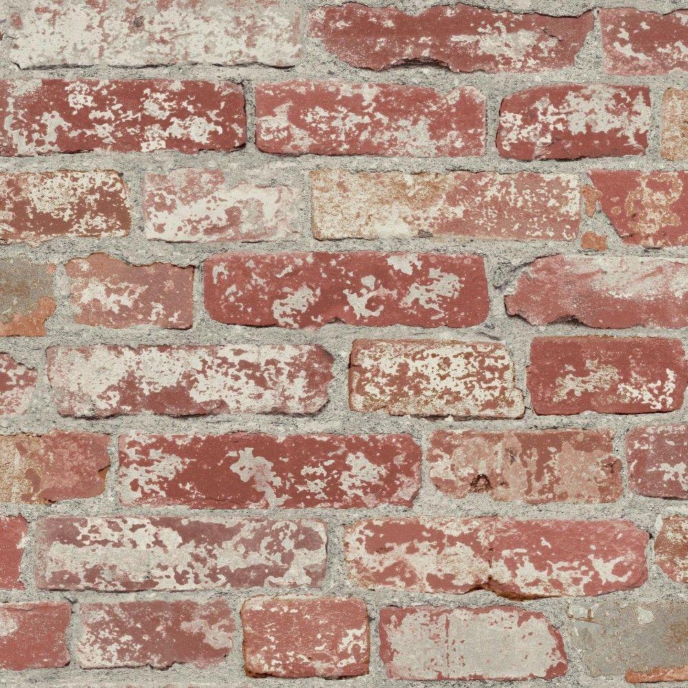 Roommates Distressed Wood Peel And Stick Wallpaper Tan In 2021 Peel And Stick Wallpaper Herringbone Wood Magnolia Homes