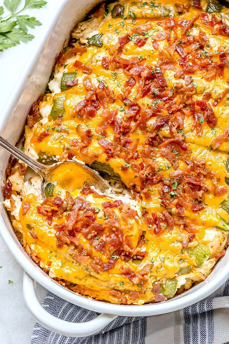 Jalapeño Popper Chicken Casserole images