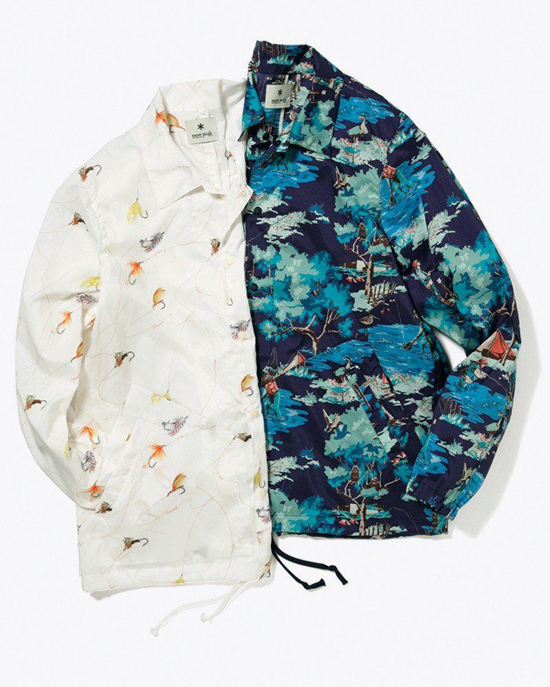 Snow Peak - Wind Resistance Jacket - 1 | S\u002718 Men\u0027s Tech Design ...
