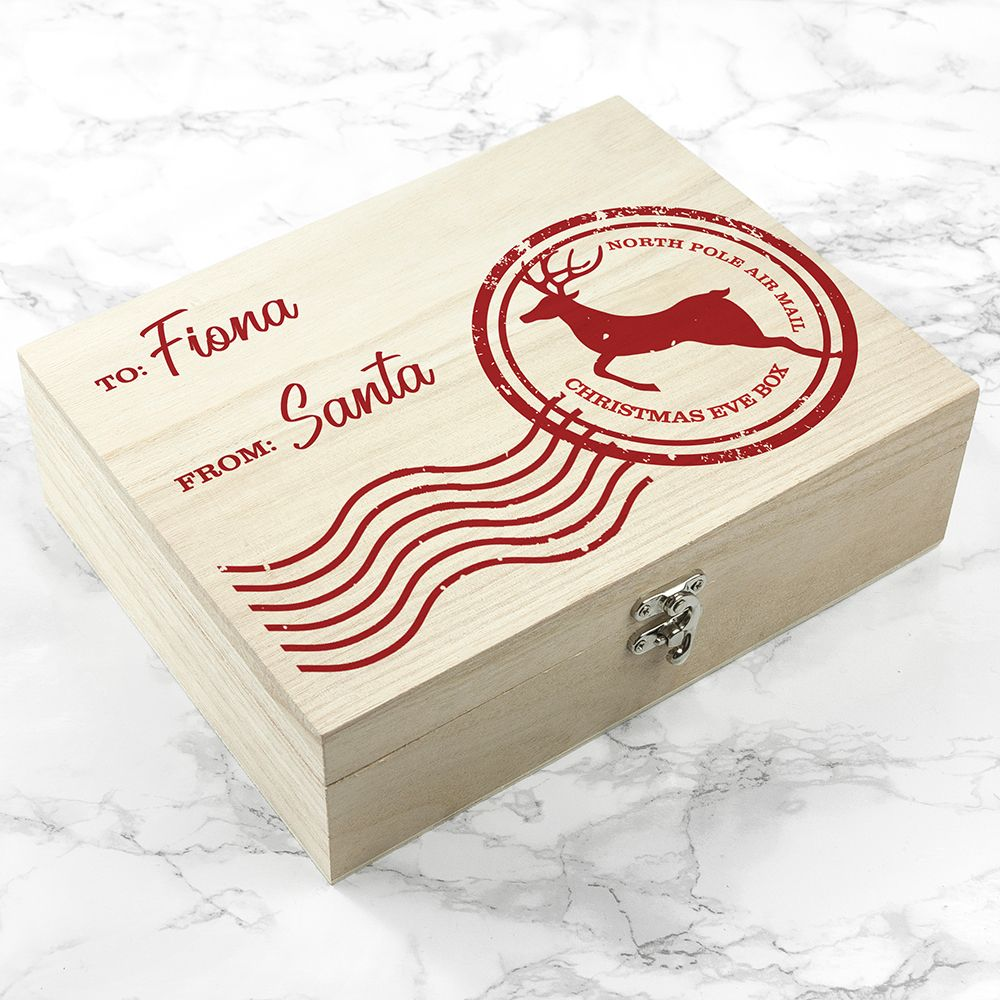 Personalised North Pole Special Delivery Christmas Eve Box This ...