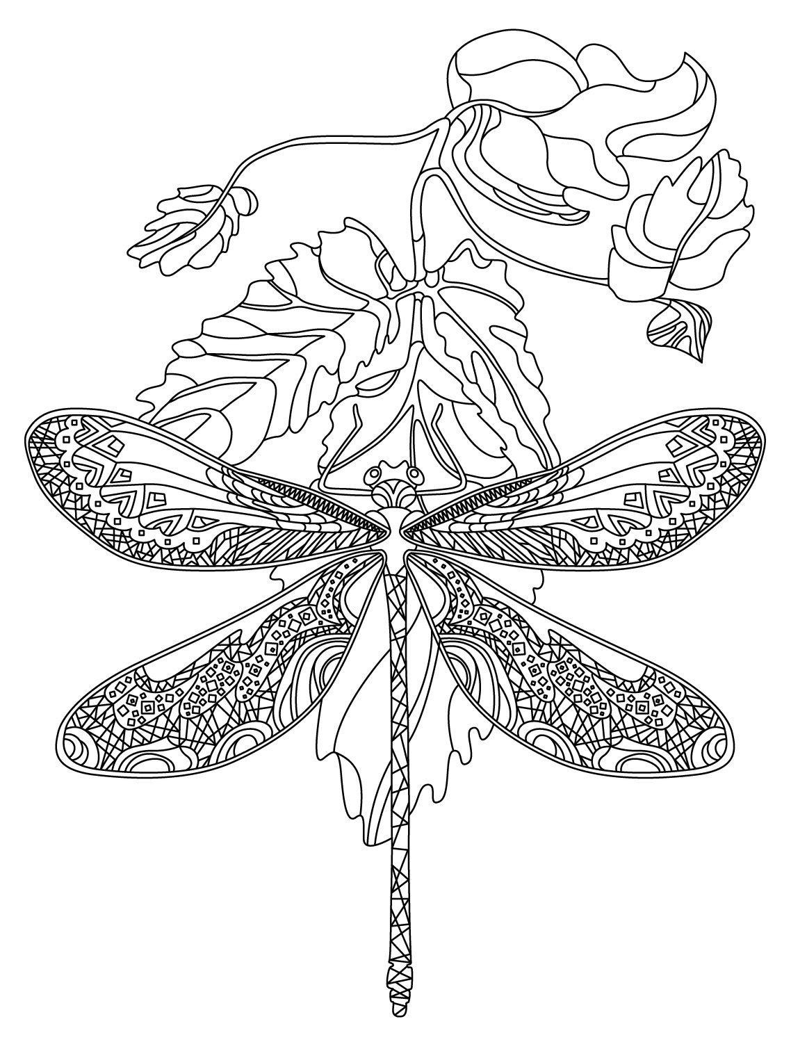 Dragonfly Colorish Coloring Book App For Adults By Goodsofttech Mandala Coloring Pages Coloring Pages Mandala Coloring