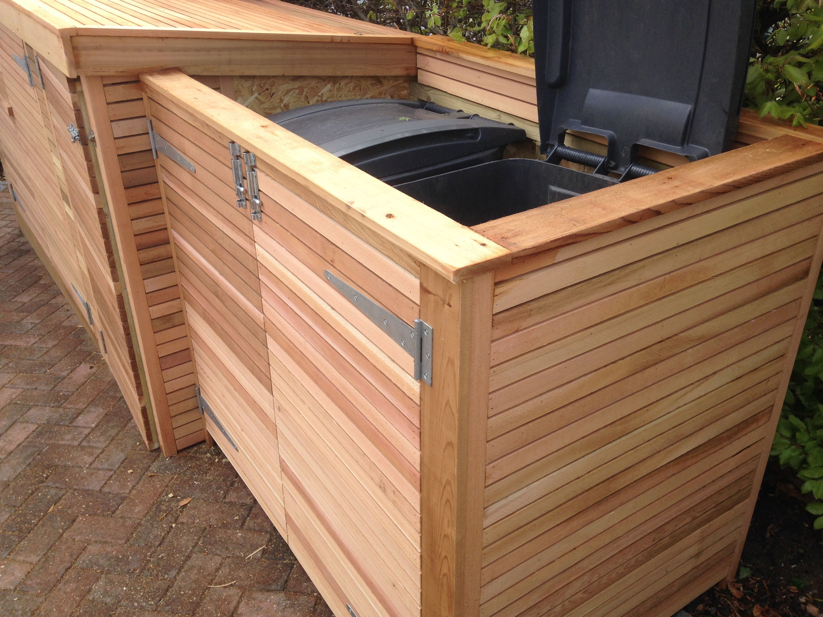 Winsome  Best Ideas About Bin Shed On Pinterest  Garbage Storage  With Entrancing Bike Shed With Bin Store Attached Clad In Horizontal Cedar Slats With Extraordinary Green Island Garden Also In An Octopuss Garden In Addition Garden Brush Argos And Plastic Garden Troughs As Well As Welwyn Garden City Jobs Additionally Gardener Prices From Pinterestcom With   Entrancing  Best Ideas About Bin Shed On Pinterest  Garbage Storage  With Extraordinary Bike Shed With Bin Store Attached Clad In Horizontal Cedar Slats And Winsome Green Island Garden Also In An Octopuss Garden In Addition Garden Brush Argos From Pinterestcom