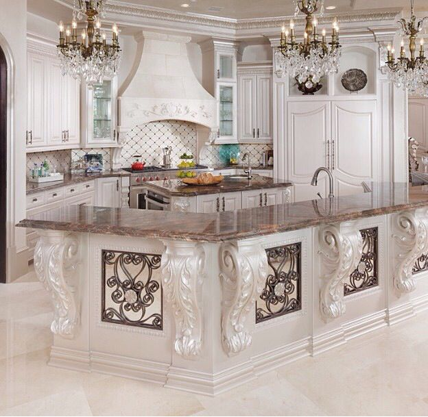Best Beautiful Details In An Elegant Kitchen Dream Home In 400 x 300