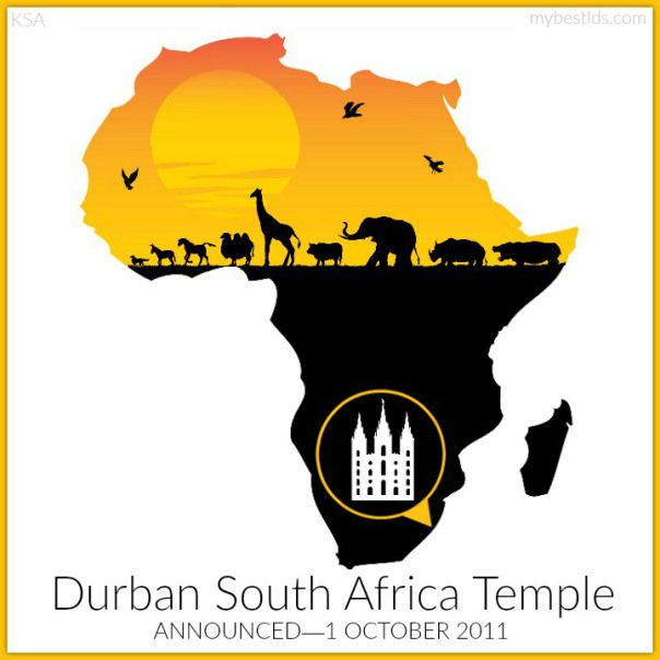 Thomas S Monson Announced The Durban South Africa Temple In 2011