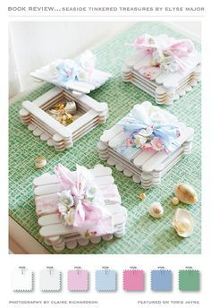 Seaside Tinkered Treasures by Elyse Major by toriejayne, via Flickr