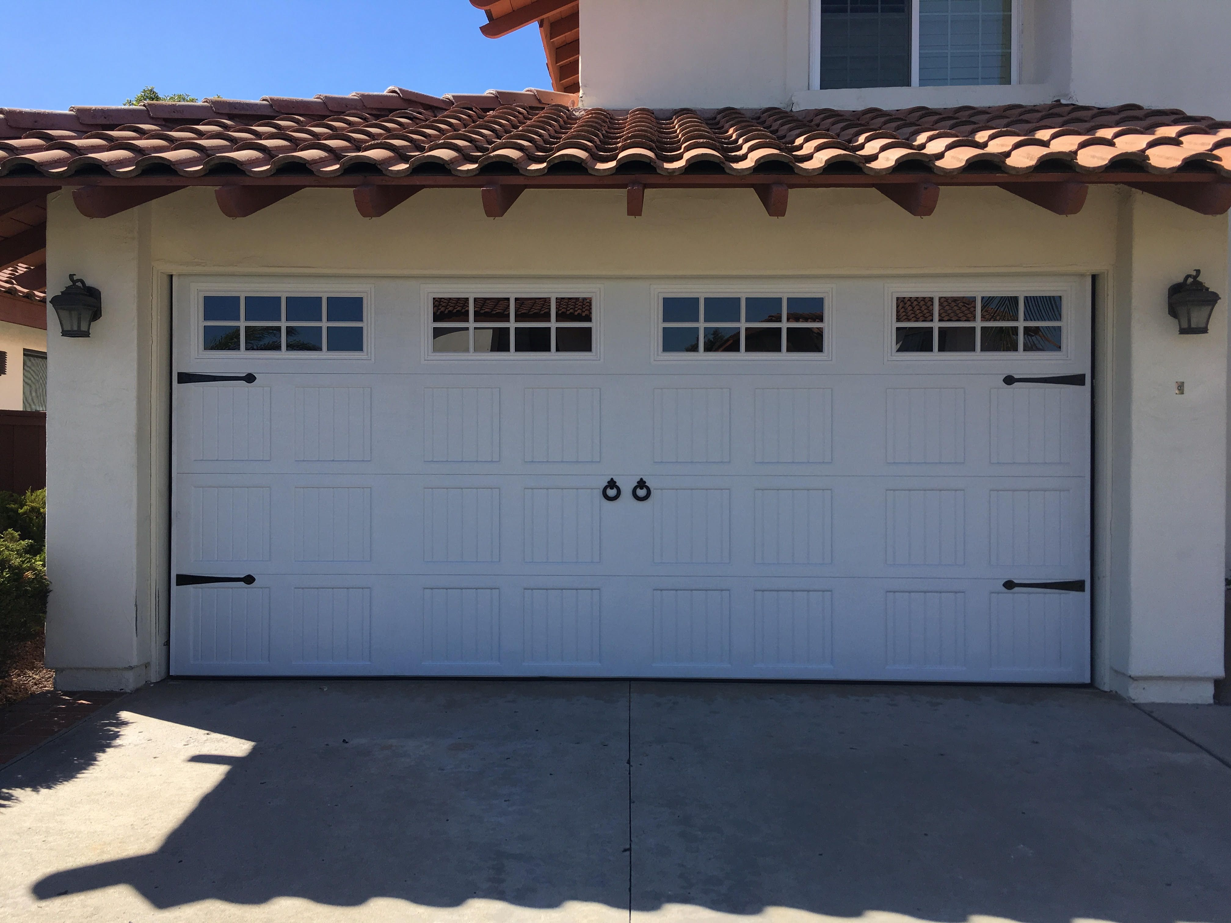 Gorgeous Carriage Style Garage Door Installed In Beautiful San Diego Ca If You Need A New Garage D Carriage Style Garage Doors Door Installation Garage Doors