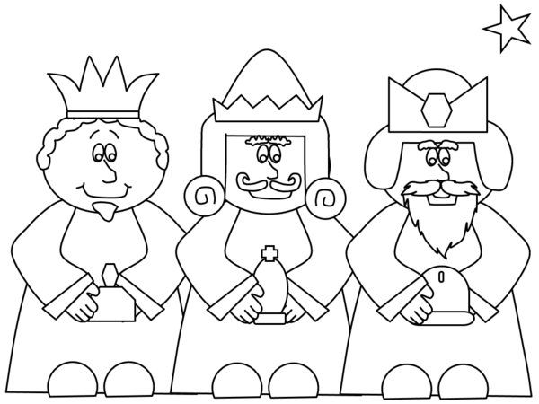 Great Free Nativity Coloring Pages For Kids 43 Nativity Coloring Pages Picture