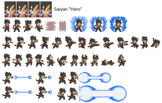 Character Sprite Sheet Google Search Xb2001side Scroller
